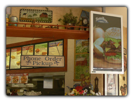 Restaurant Digital Poster Signage